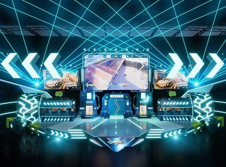 QQ飞车S联赛总决赛舞美设计
