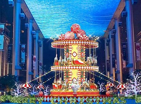 大马戏主题圣诞装饰
