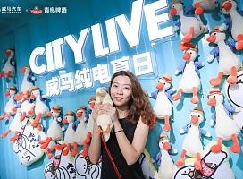 威马纯电夏日CITY LIVE南京站