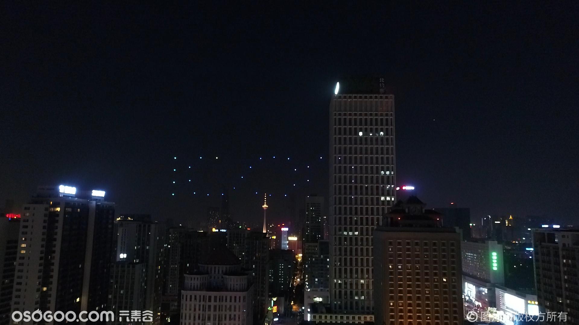 山东 沈阳吉利汽车—室外星空无人机编队创意表演