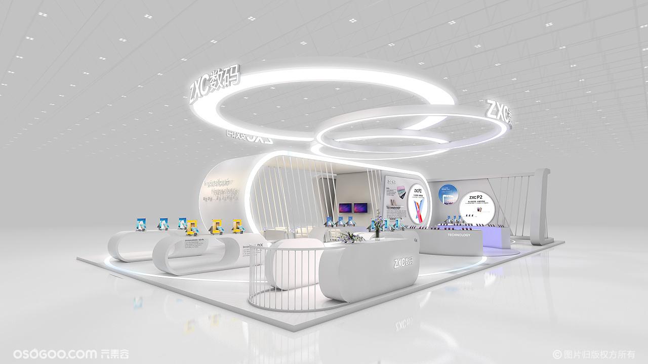 3D展会设计▪展会柜台3D创意设计