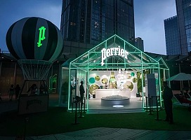 """Perrier巴黎水 清新体验""""Green House"""""""