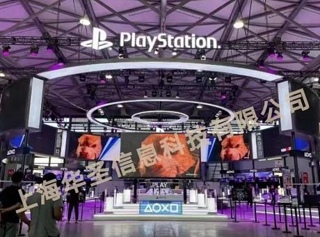 2021年第十九届CJ展索尼PS5展台