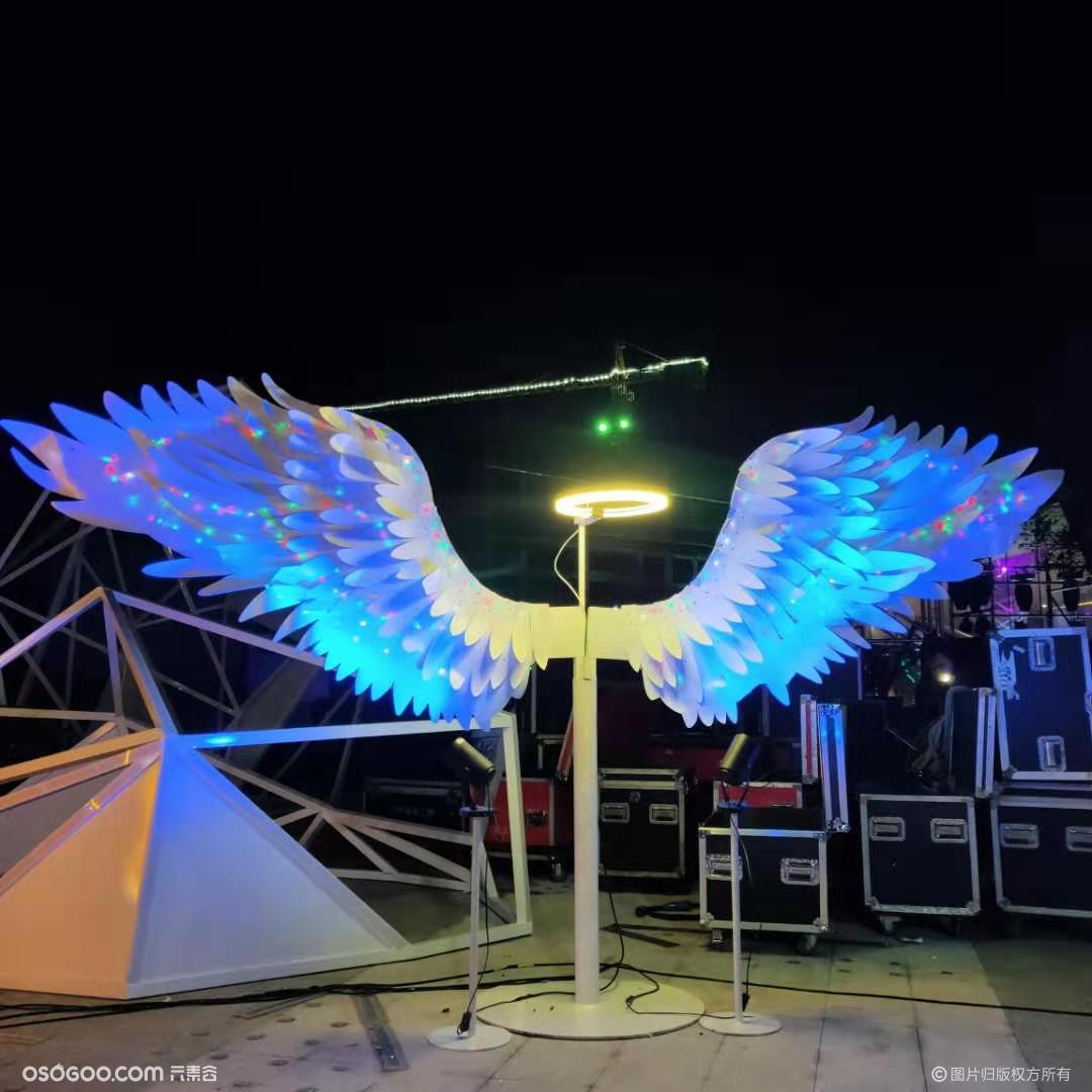 网红拍照装置---天使之翼,烟泡树,树藤椅