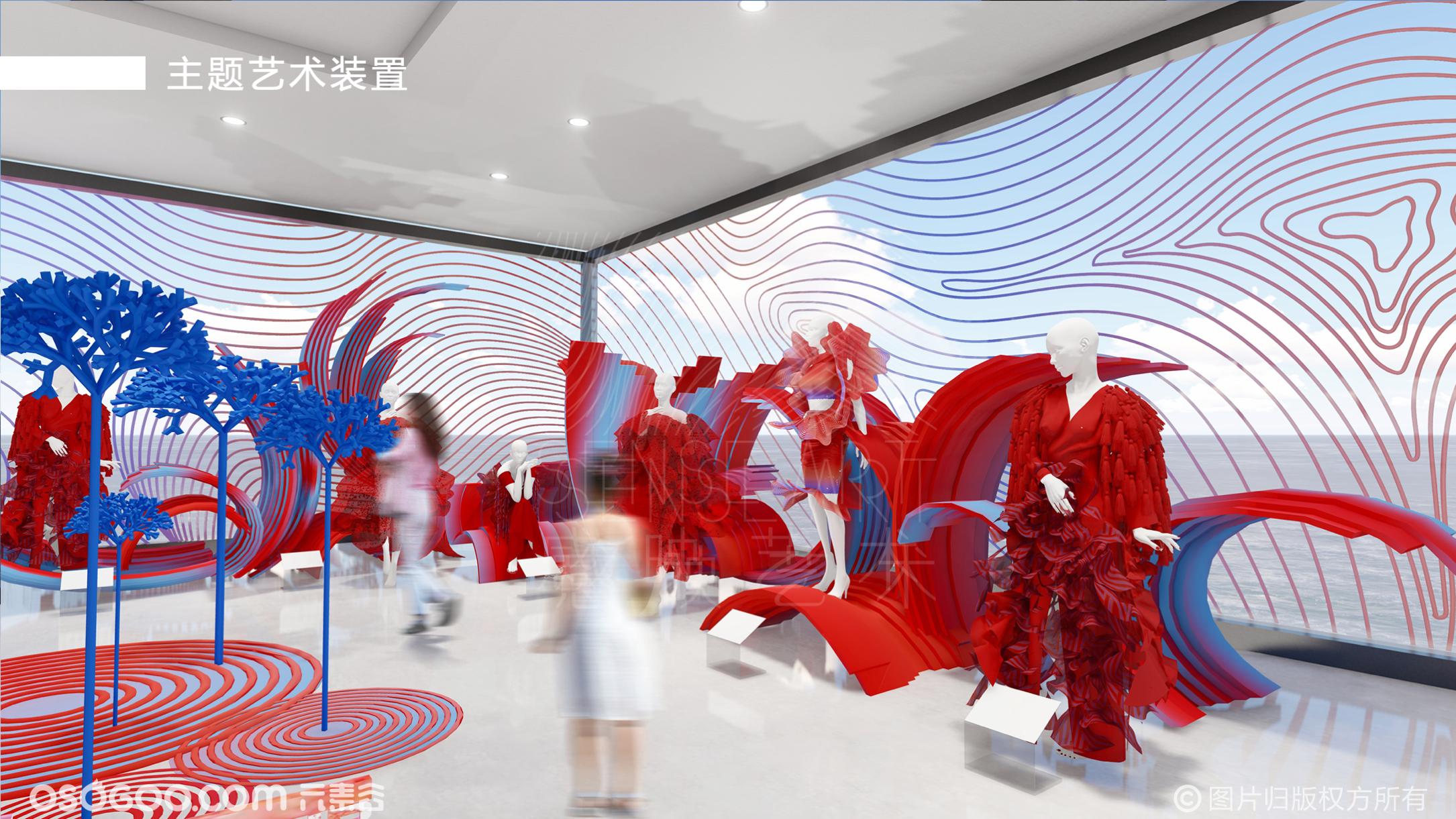 【舞动的颜色】新潮跨界艺术家时尚艺术展