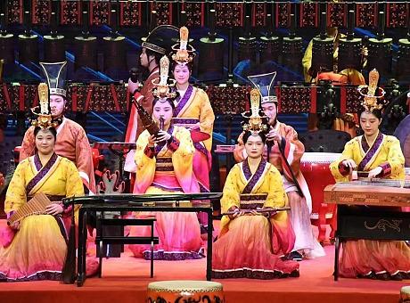 编钟民乐-古代传统乐器表演