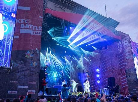 KFC音乐节舞台设计