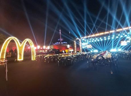 麦当劳成立25周年|埃及