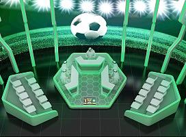 体育电视赛事演播厅设计
