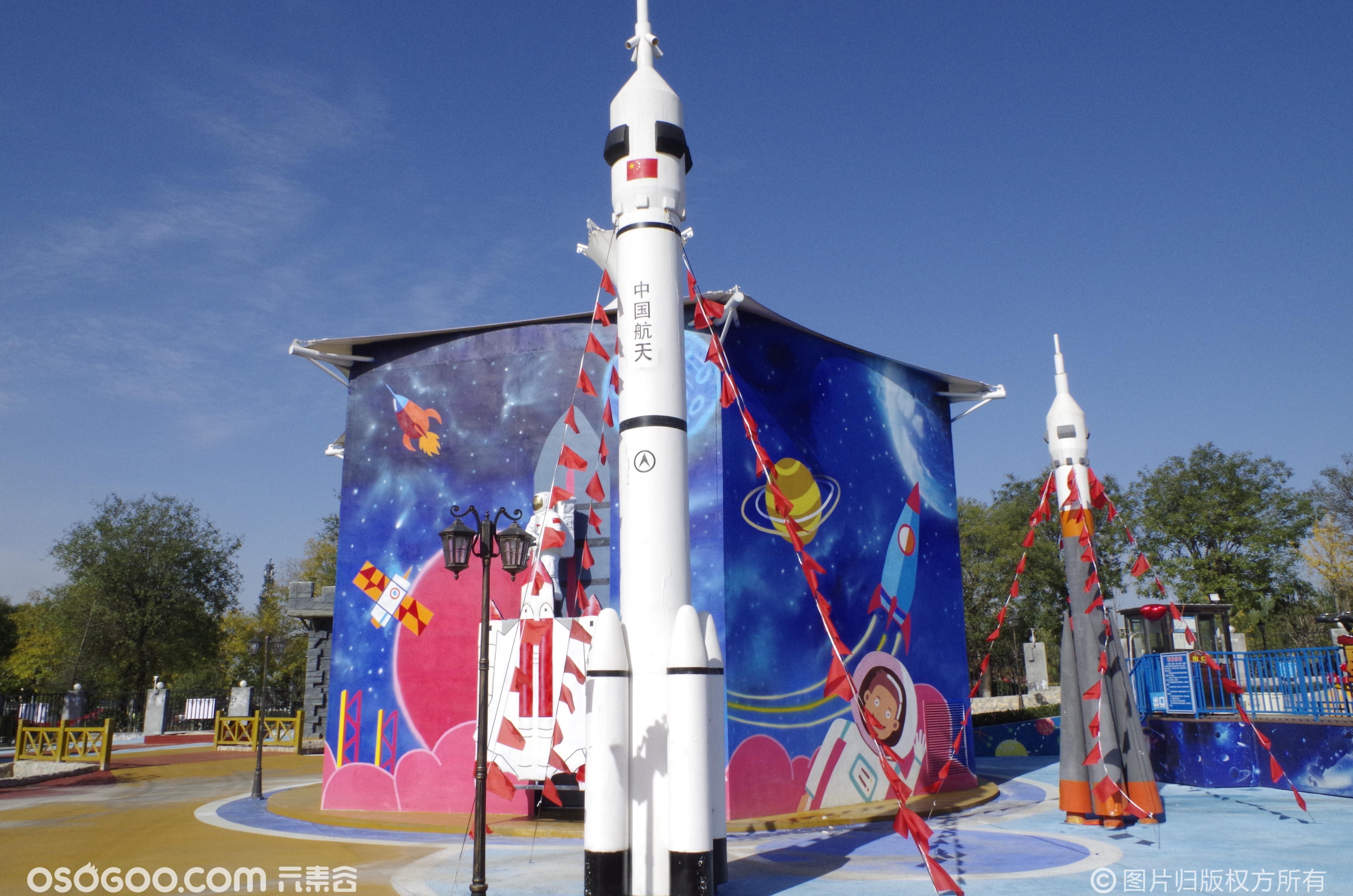 三维太空环、太空科技展、火箭飞行器宇航服等道具租赁