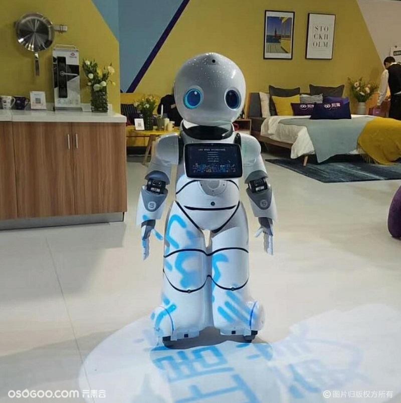 机器人租赁定制商演表演 适用于房产活动 会展展览