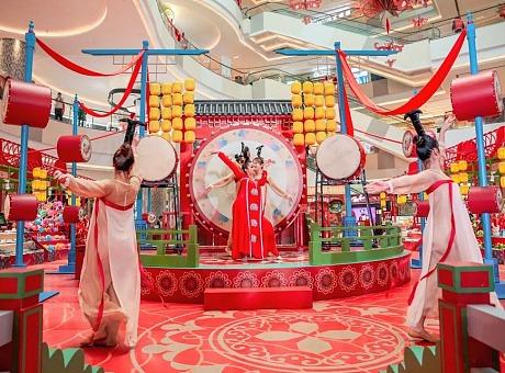 上海七宝万科广场第五届年宵花市