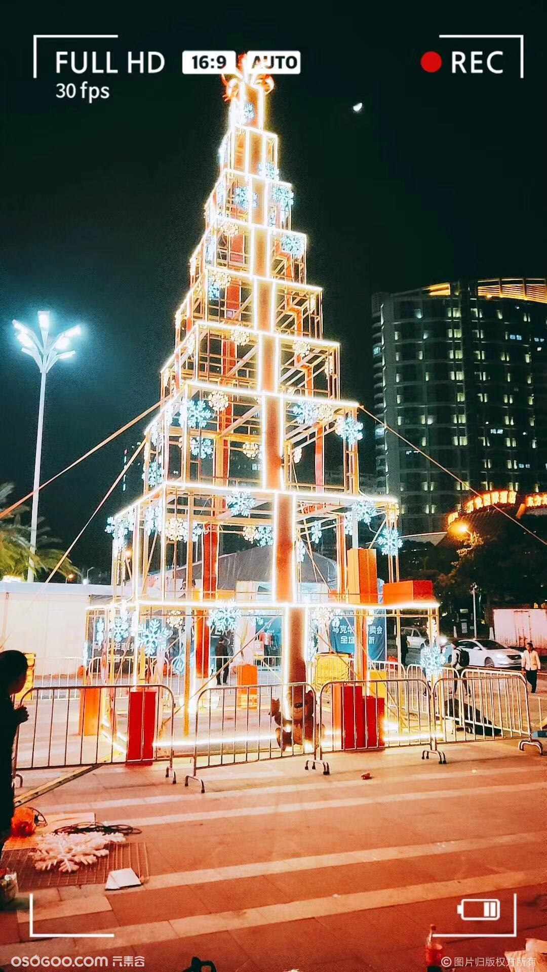 人气景观型圣诞树定制出售