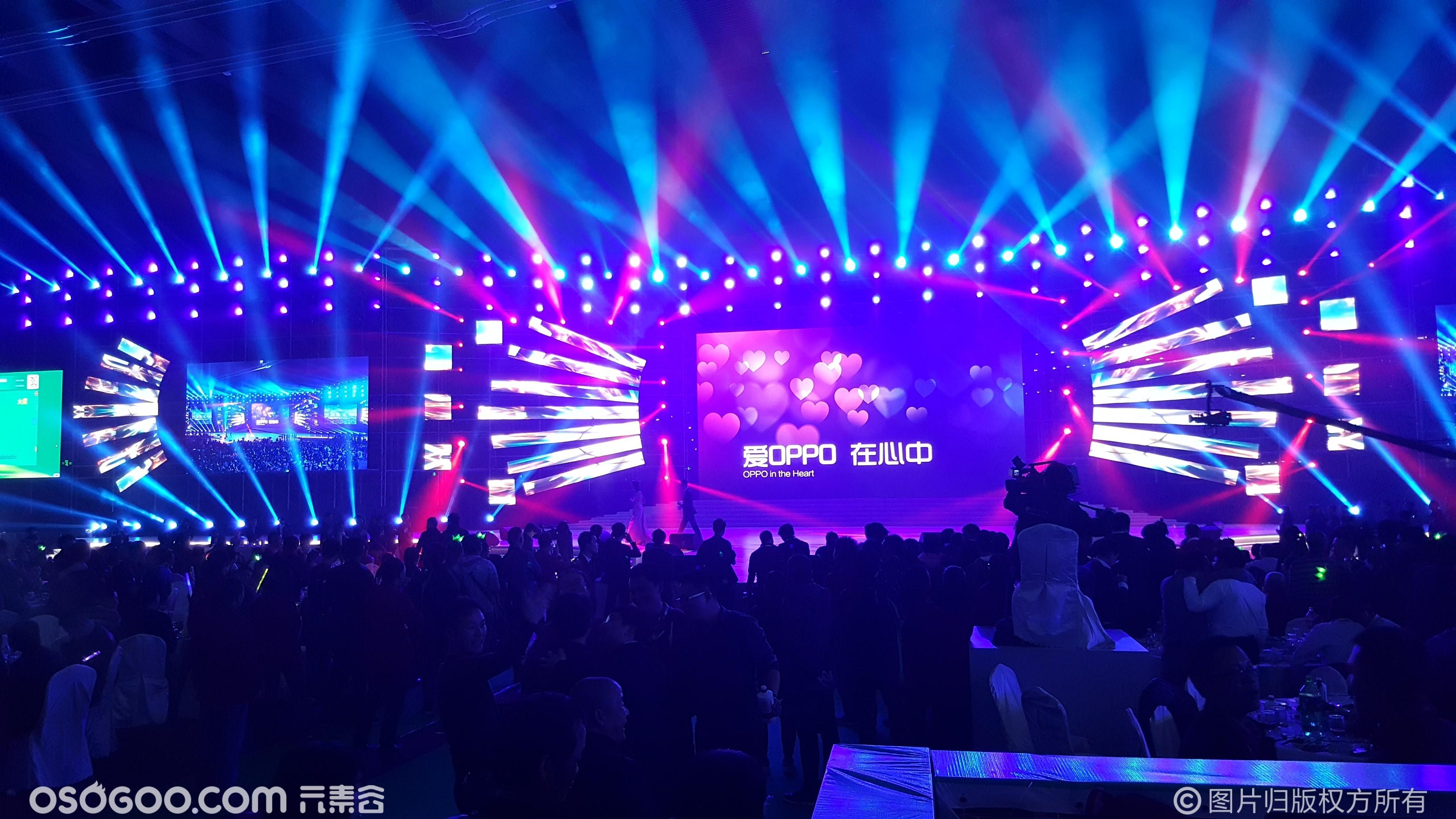 2018OPPO年会舞台