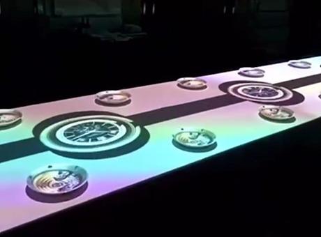 运用科技全息打造一场高端创意公司年会晚会的沉浸式用餐体验