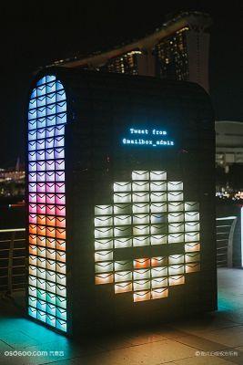 """2018年""""照亮滨海湾""""灯光艺术节"""