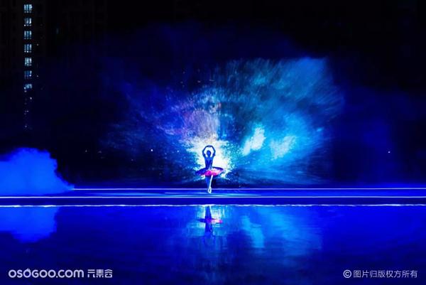 水幕全息投影发布会,水上舞台发布会,水上节目展示