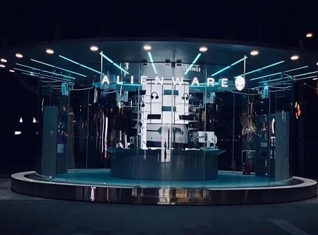 Alienware(外星人)杭州西湖快闪店设计