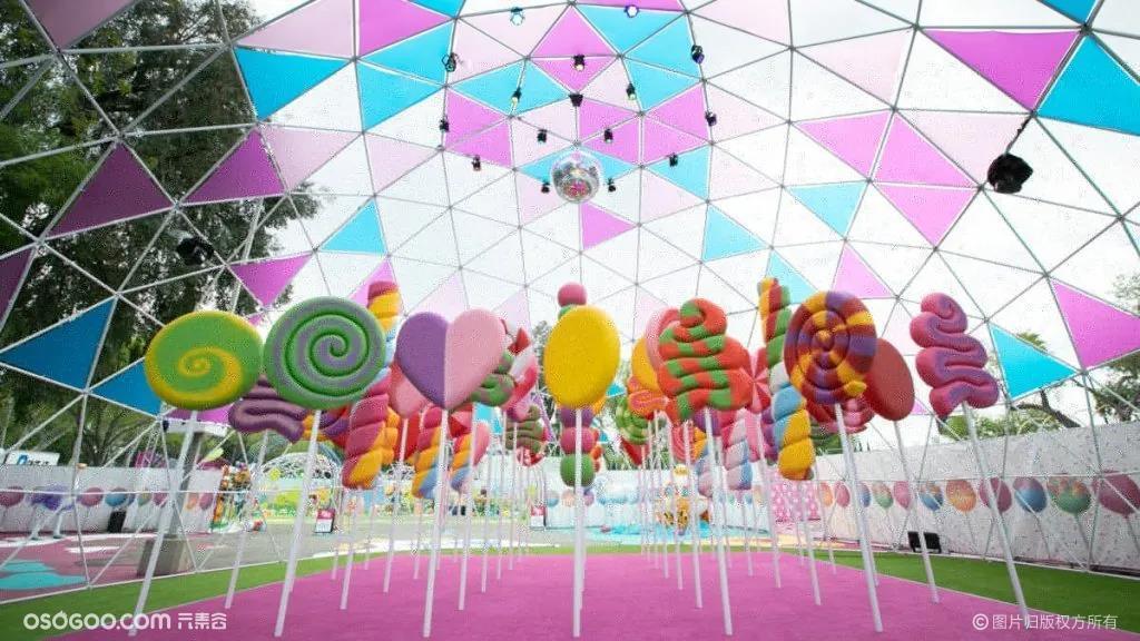 """色彩缤纷的糖果主题公园""""Sugar Rush"""""""