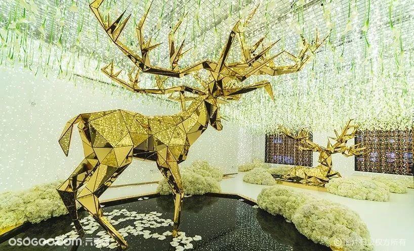"""""""鹿"""":活动美陈动物形象主题设计"""