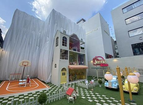 JENTLE HOME 主题设计少女梦幻娃娃屋