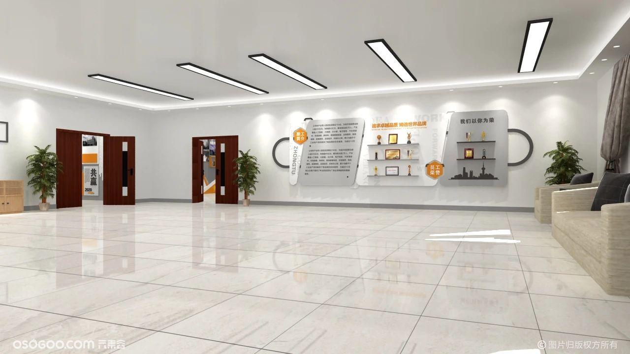 企业文化墙设计赏析二