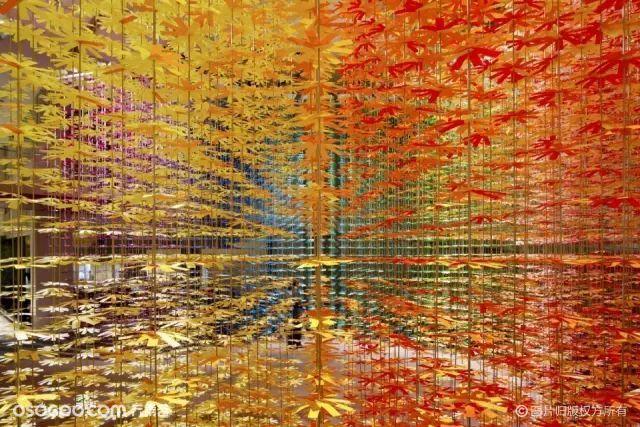 【创意】这些火遍全球的艺术装置,不管放在哪都是网红打卡点!