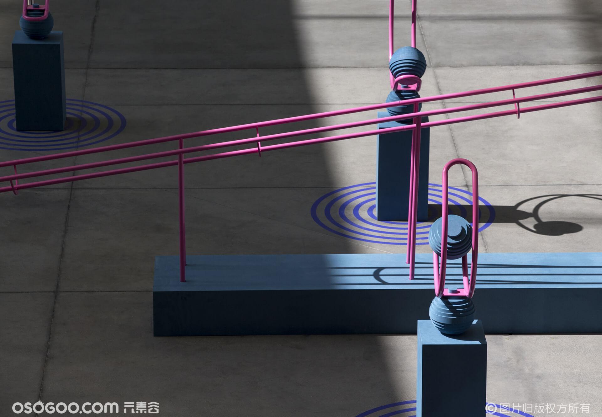 为什么这个阿迪达斯篮球场那么……嗯……漂亮?是巴黎效应吗?