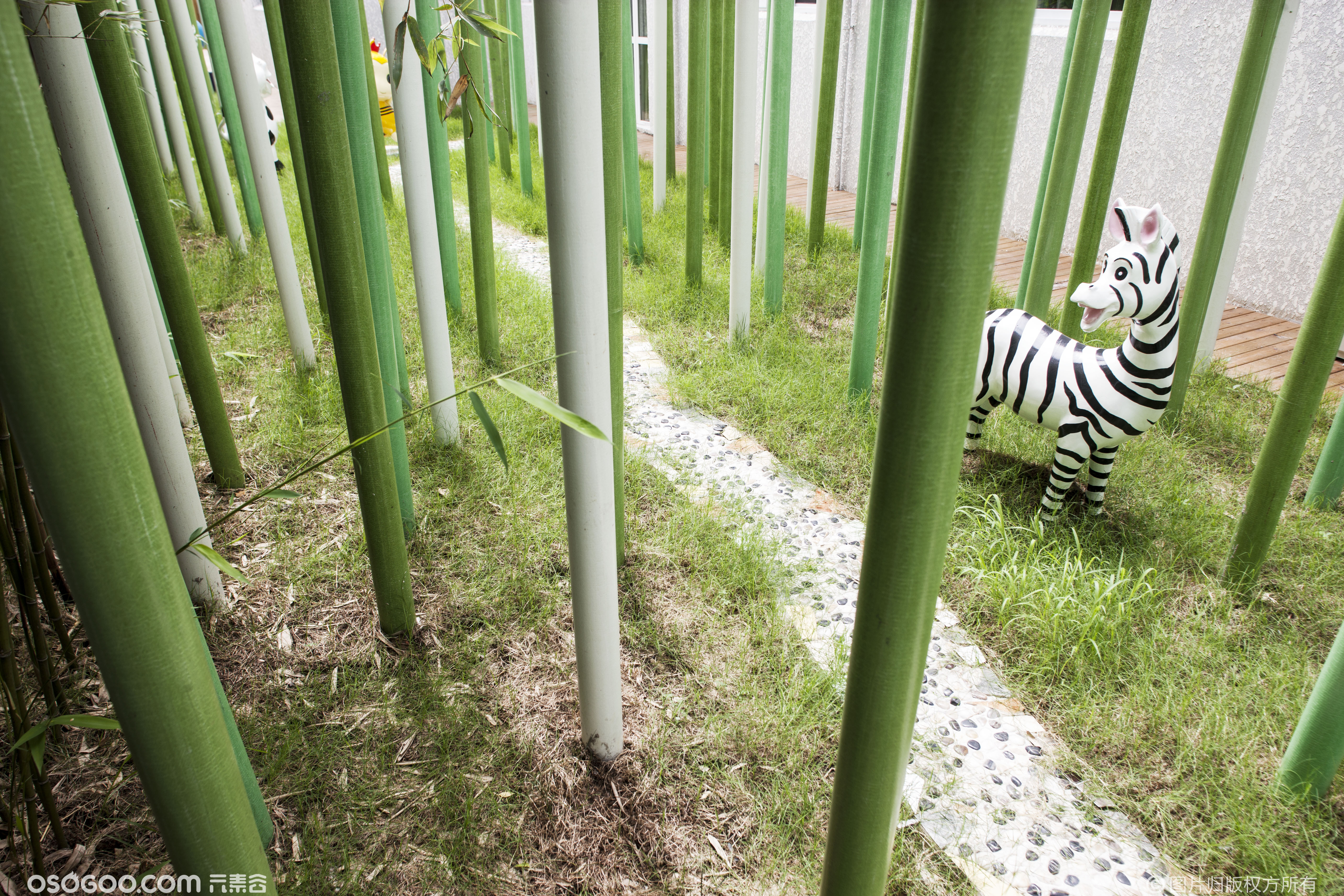 自然界幼儿园设计【GRK张晓光设计】大自然中的幼儿园