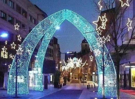 广东灯光节造型设计灯光展出租出售灯光展租赁树木亮化