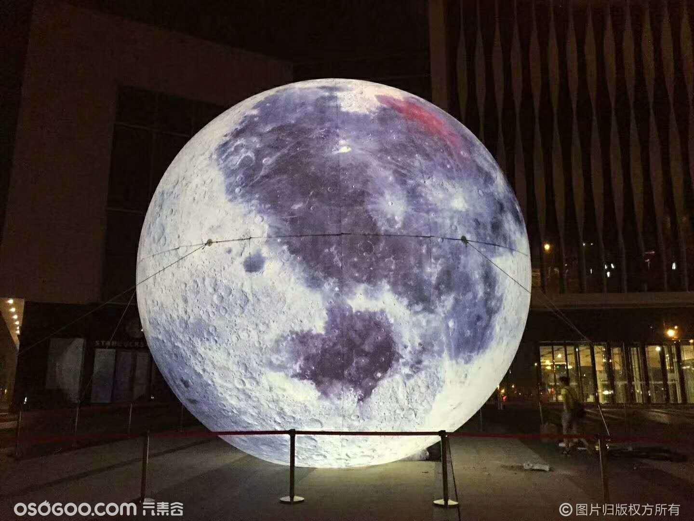 发光月亮展览发光月亮出租租赁