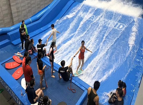 夏日必备水上冲浪设备出租定制水上冲浪模拟器租赁厂家