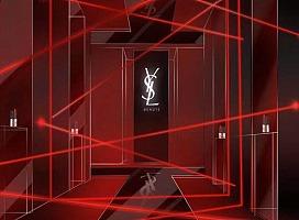 YSL新品展设计方案|圣罗兰