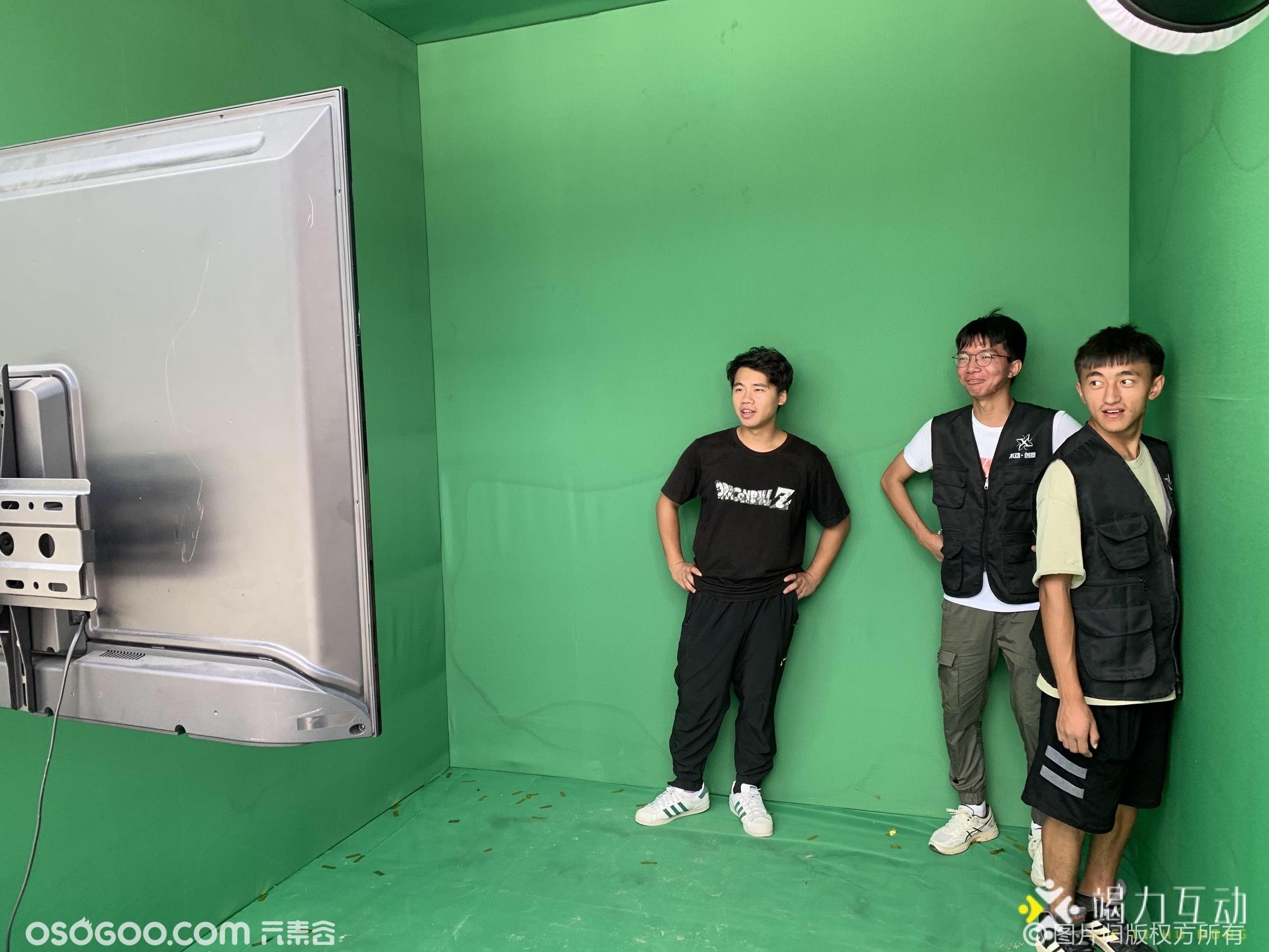 宁波漫步宸芯绿幕视频秀
