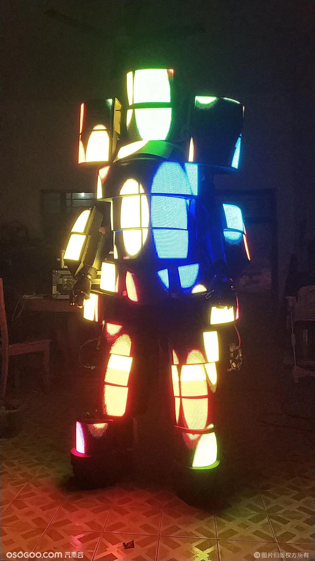 暖场互动神器-全面LED屏机器人