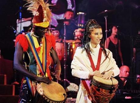 非洲手鼓-黑人手鼓