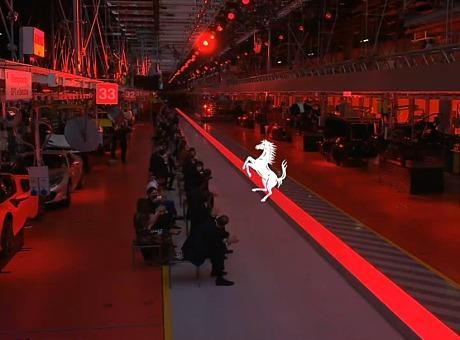 Ferrari法拉利-品牌首场时装秀
