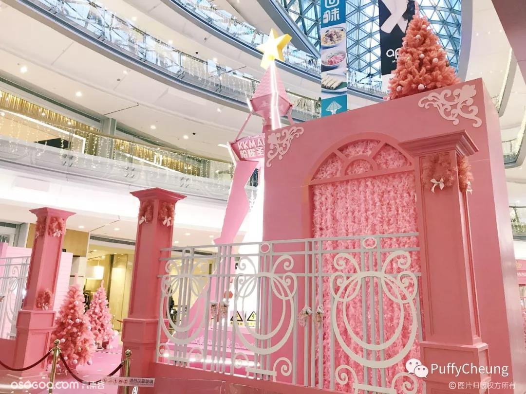 2018深圳五大购物中心圣诞美陈