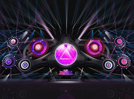 电音节舞美灯光设计方案