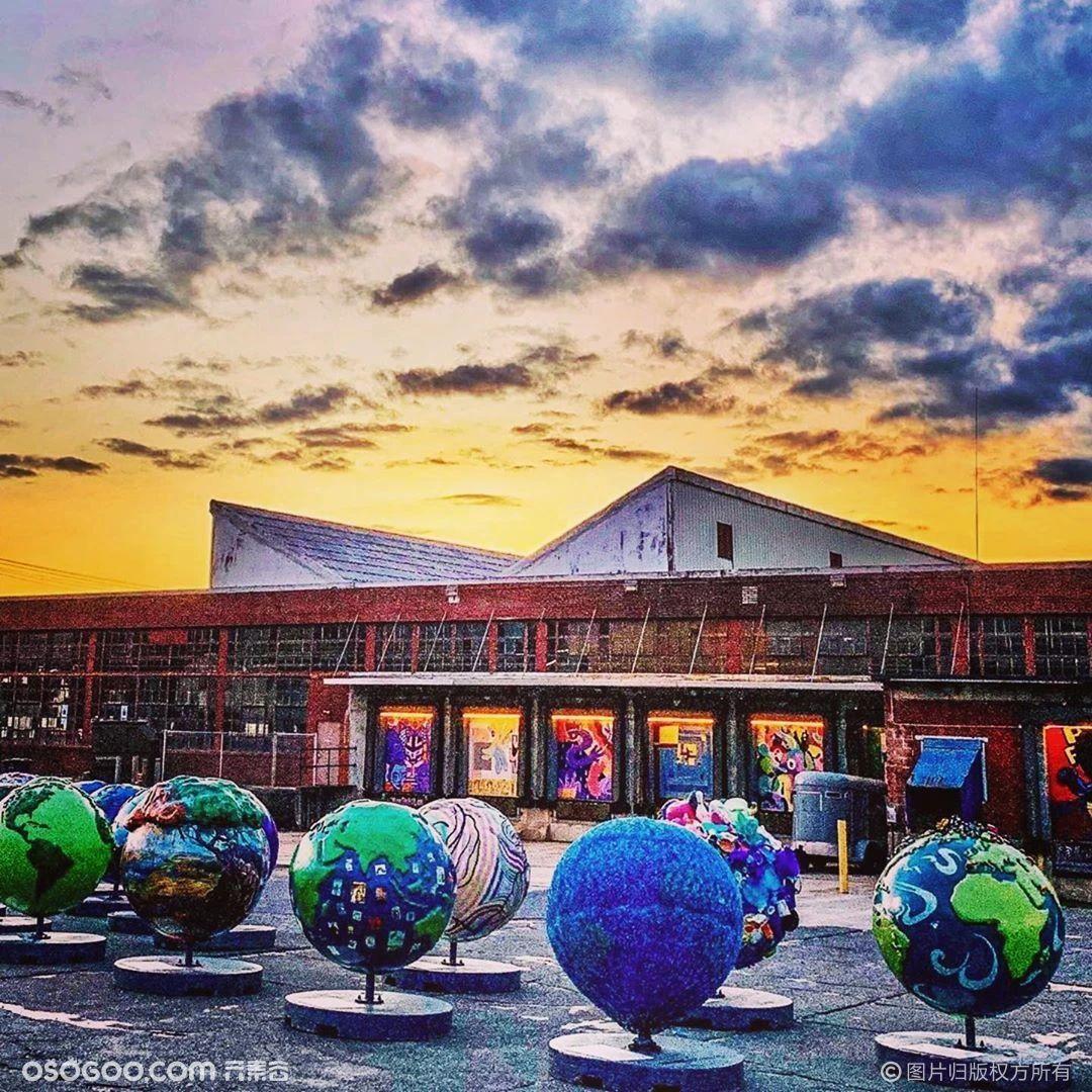 """Cool Globes""户外公共艺术展"