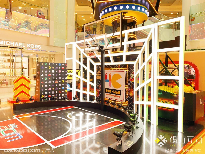 北京购物中心PAC-MAN极限运动会潮玩特效拍照装置案例分享