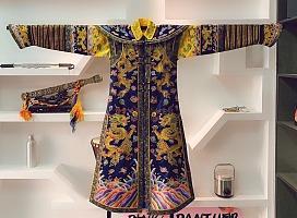 中国传统文艺展品龙袍首秀展览租赁