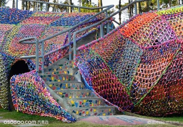 8个编织场景,沉浸式艺术装置