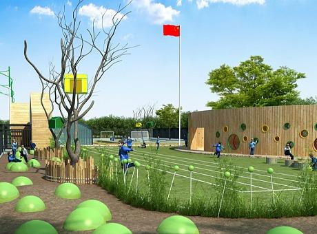 台湾剑声国际幼儿园【GRK张晓光设计】国际幼儿园设计案例