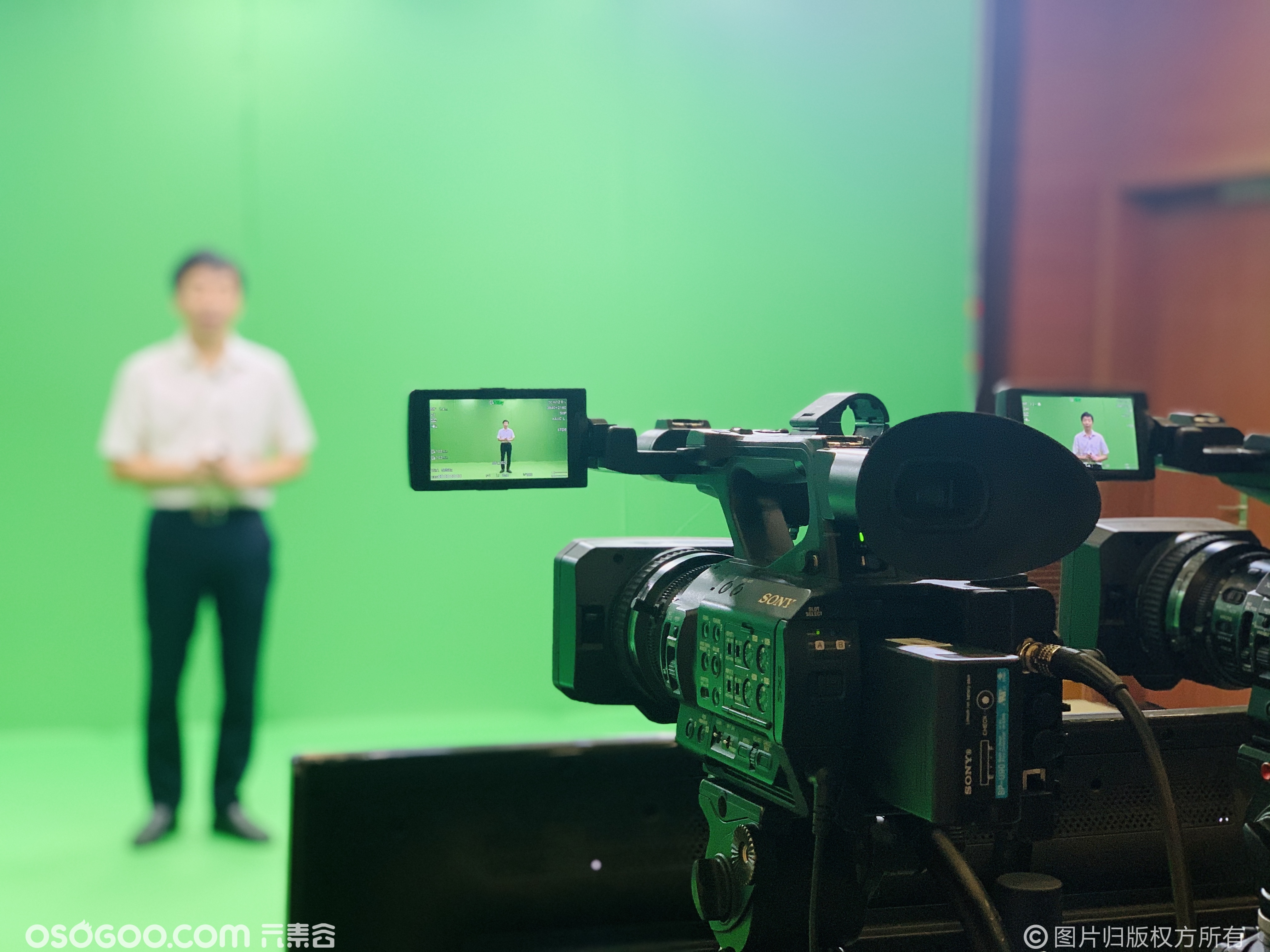 浙江联通云上3D虚拟直播录制发布会定制渲染舞台AI效果案例