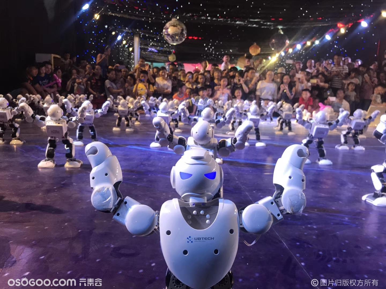 机器人跳舞表演逗比机器人舞蹈阿尔法机器人春晚舞蹈机器人租赁