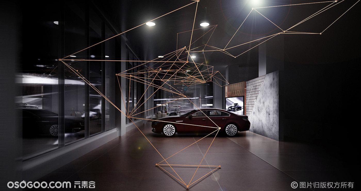 BMW X7展示区设计