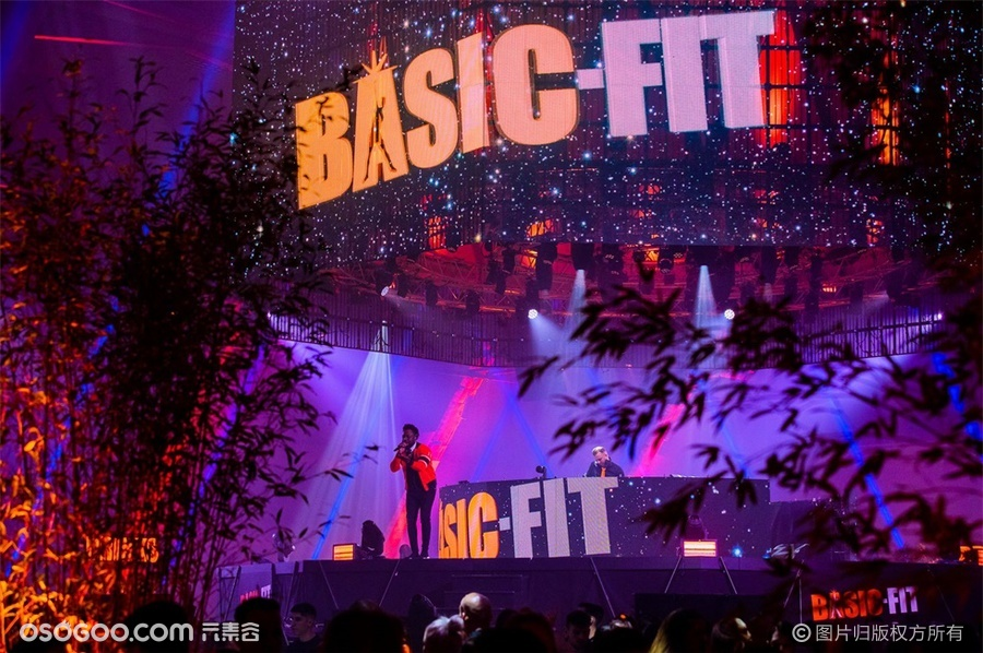 "BASIC-FIT ""橙色革命""2020年度派对"