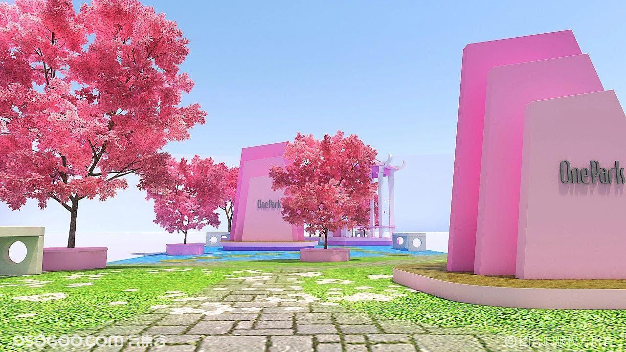 案例 | 樱花主题商业美陈设计