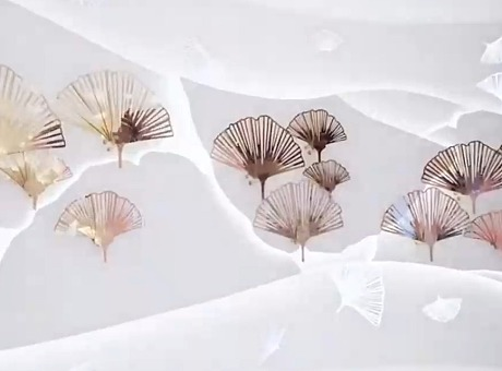 见证法国希思黎卓越体验展-互动装置艺术